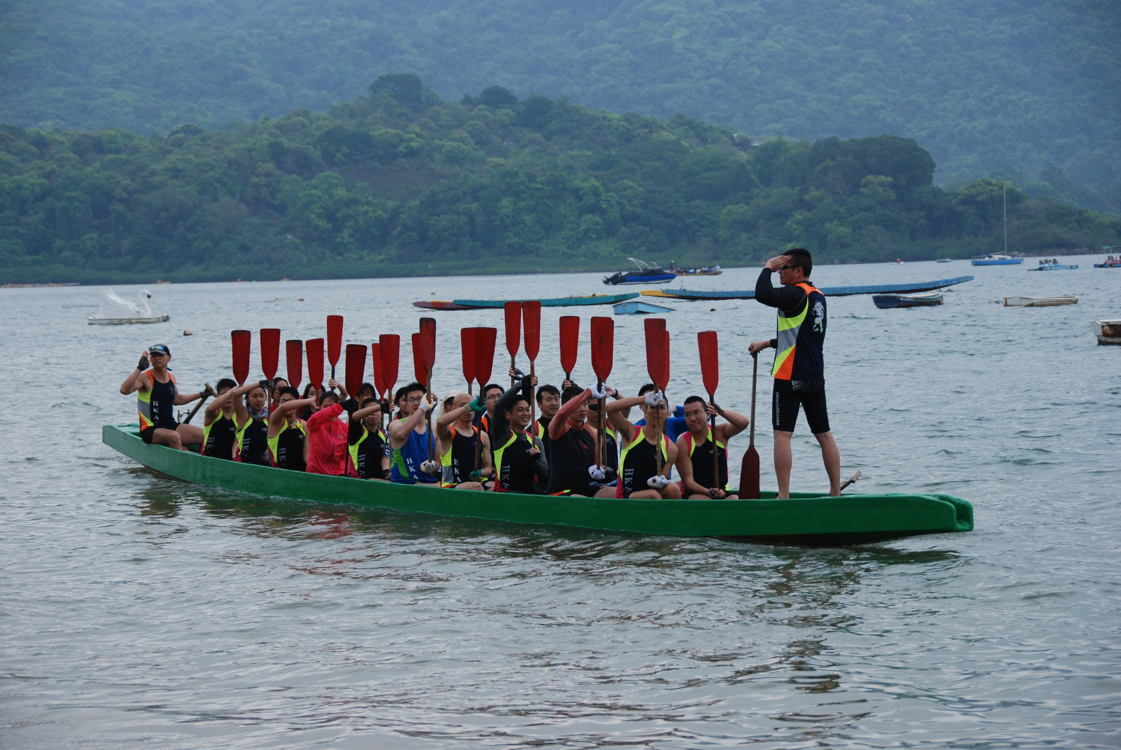 HKAP Dragon Boat Team Launching Ceremony 2014