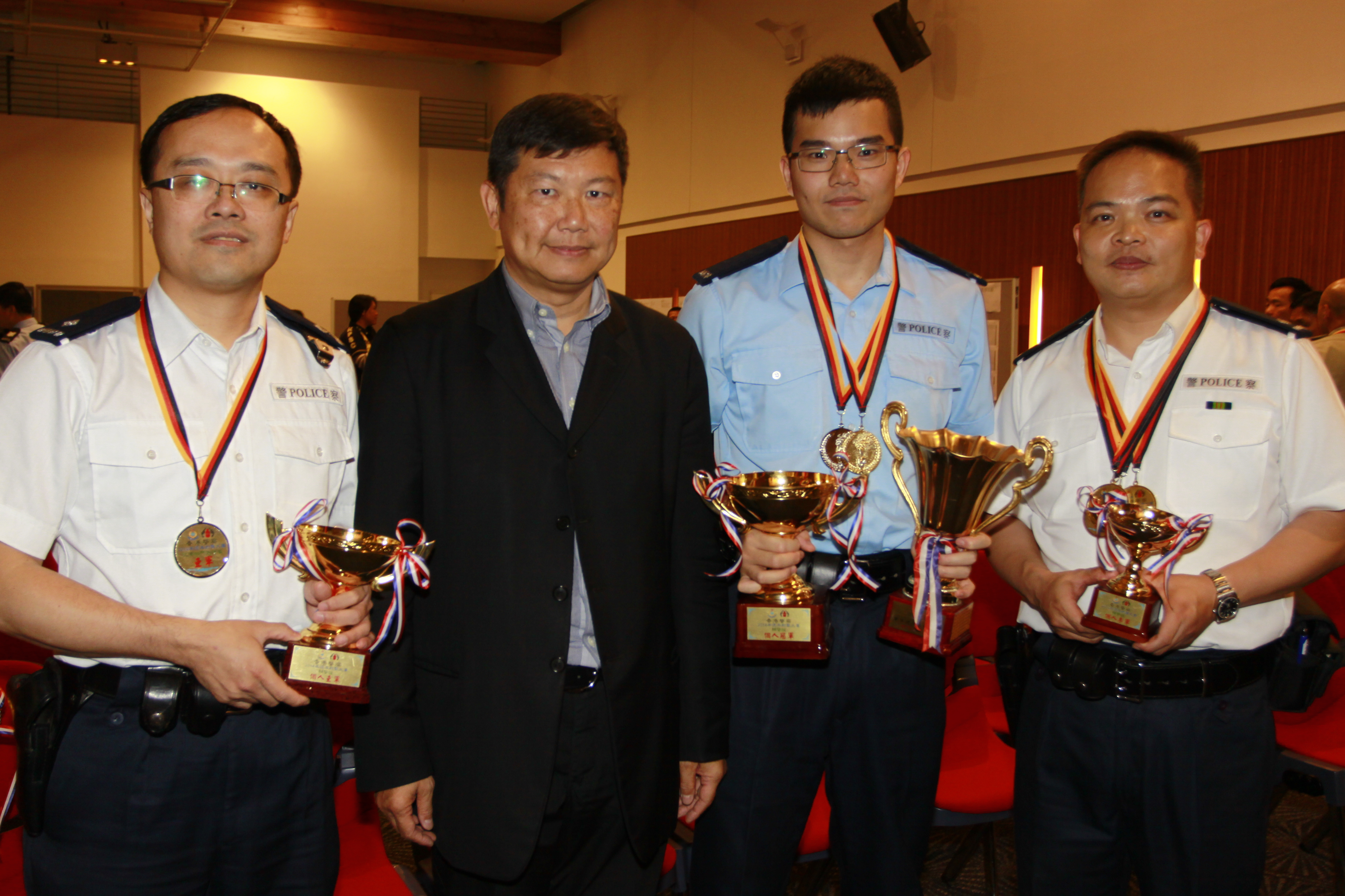 Auxiliary Police Individual Prizes